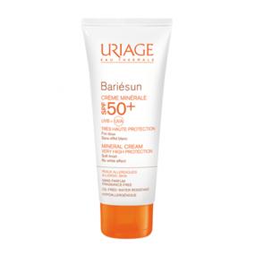Урьяж Барьесан Крем минеральный SPF50+ Uriage Bariesun Mineral Cream SPF 50+