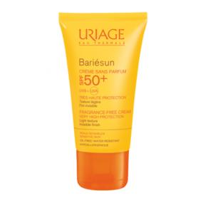 Урьяж Барьесан Крем солнцезащитный без ароматизаторов SPF50+ Uriage Bariesun Cream SPF50+ Very high protection care for sensitive skin