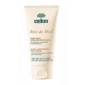 Нюкс Рэв Де Мьель Крем для ног, восстанавливающий комфорт Nuxe Reve de Miel Ultra comfortable foot cream