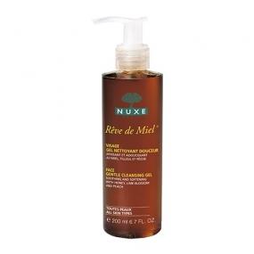 Нюкс Рэв Де Мьель Гель для лица для снятия макияжа Nuxe Reve de Miel Face gentle cleansing gel