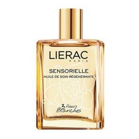 Лиерак Сенсорьель Масло восстанавливающее для тела и волос Lierac Sensorielle Regenerating Oil with 3 White Flowers