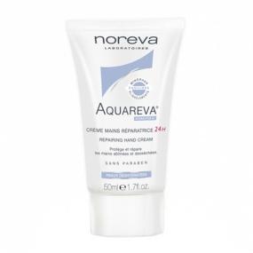 Норева Акварева Восстанавливающий крем для рук 24 часа Noreva Aquareva Repairing hand cream