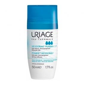 Урьяж Дезодорант тройного действия роликовый Uriage Deodorant Puissance 3 Anti-transpirant