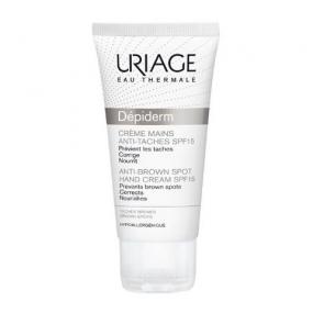 Урьяж Депидерм Крем для рук SPF15 Uriage Depiderm Creme Mains Anti-Taches SPF15