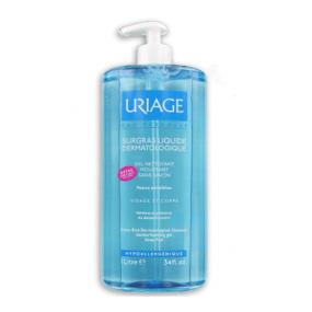 Урьяж Гель Обогащенный дерматологический для лица и тела Uriage Surgras Liquide Dermatologique Gel Nettoyant Moussant Sans Savon